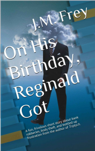 On His Birthday, Reginald Got - Cover
