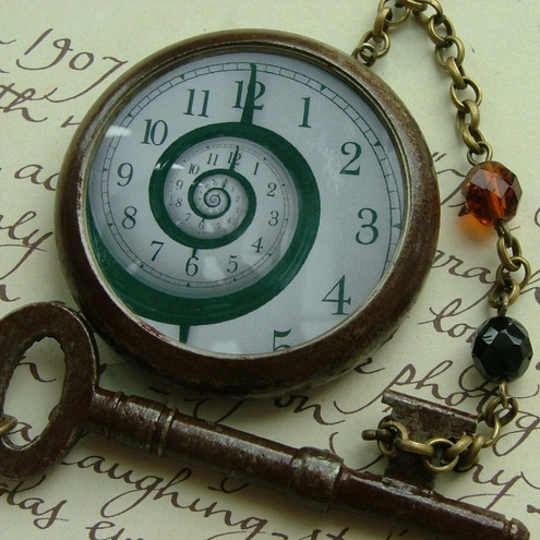 Pocket Watch With Chain Tattoo