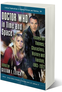 This collection of fresh essays addresses a broad range of topics in the BBC science fiction television series Doctor Who, both old (1963-1989) and new (2005-present). The book begins with the fan: There are essays on how the show is viewed and identified with, fan interactions with each other, reactions to changes, the wilderness years when it wasn't in production. Essays then look at the ways in which the stories are told (e.g., their timeliness, their use of time travel as a device, etc.). After discussing the stories and devices and themes, the essays turn to looking at the Doctor's female companions and how they evolve, are used, and changed by their journey with the Doctor.